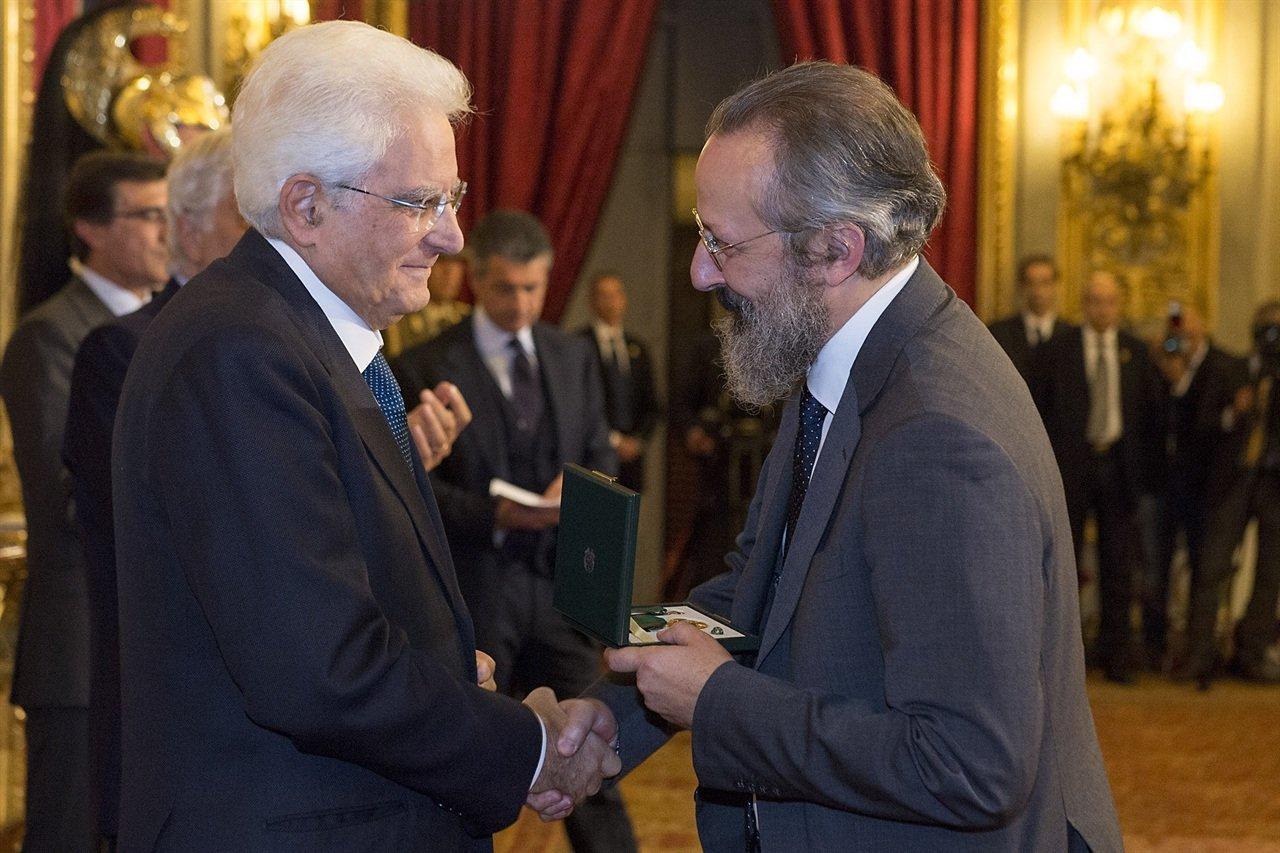 con President of Italy